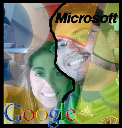 Team Google v Team Microsoft